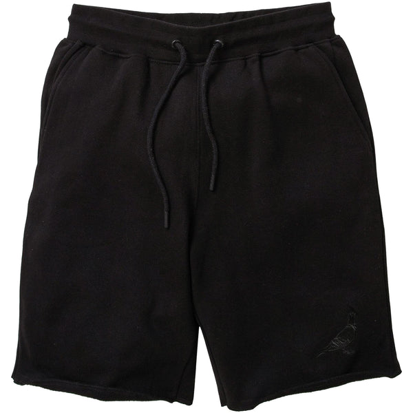 Staple - Garment Wash Pigeon Sweatshort (black)
