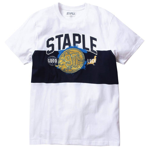 Staple - Gold Medal Embroidered Tee (white)