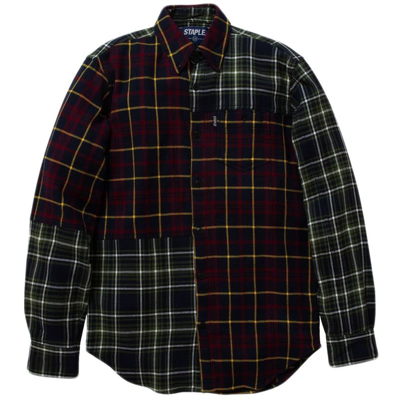 Staple - Mixed Flannel Woven