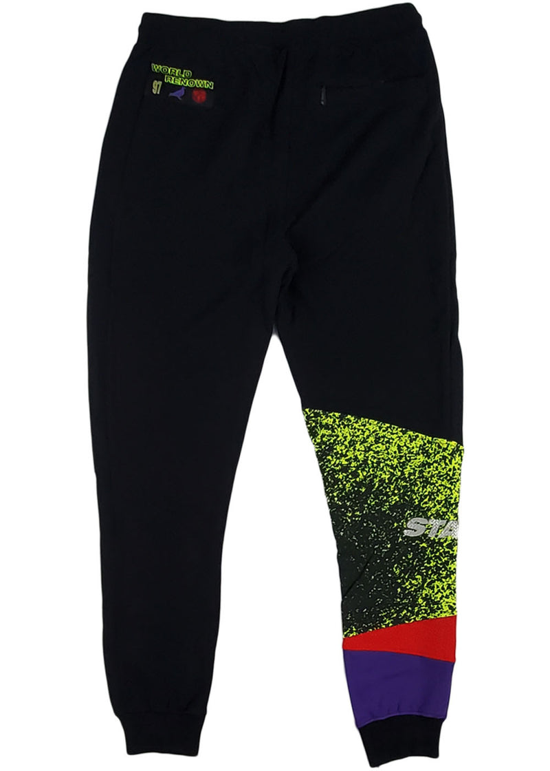Staple - Shock Splatter Sweatpant (black)