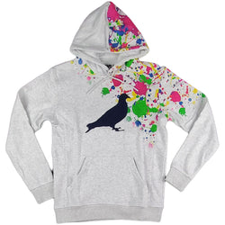 Staple - Splatter Pigeon Hoodie (heather grey)