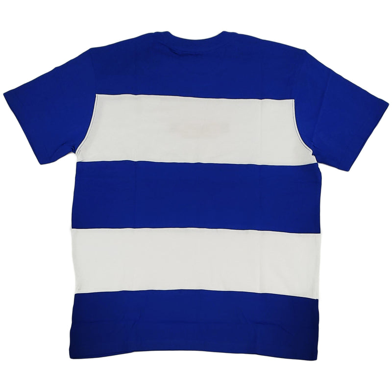 Staple Block Stripe Logo Tee (blue)