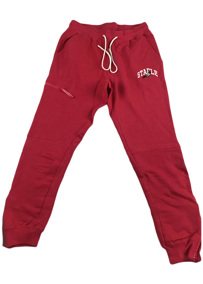 Staple Collegiate Pigeon Sweatpant (fuschia)