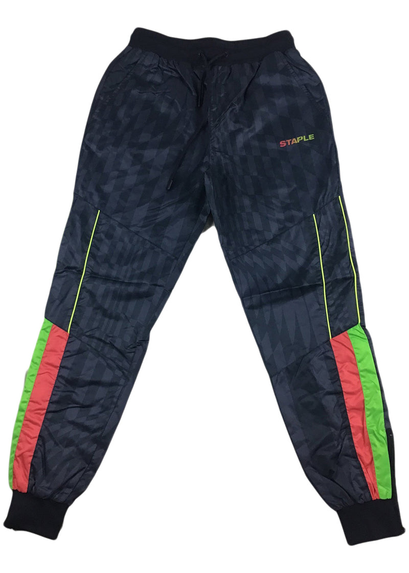 Staple Dazzle Nylon Pant (navy)