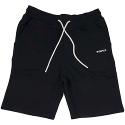 Staple Loopback Sweatshort (black)
