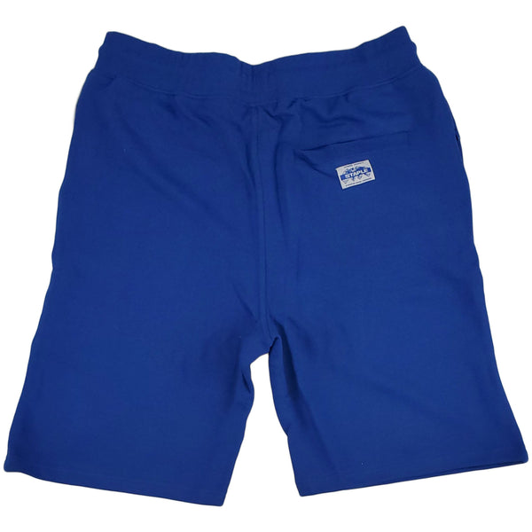Staple Loopback Sweatshort (blue)