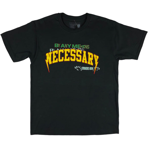 Striver's Row - By Any Means SS Tee (black)