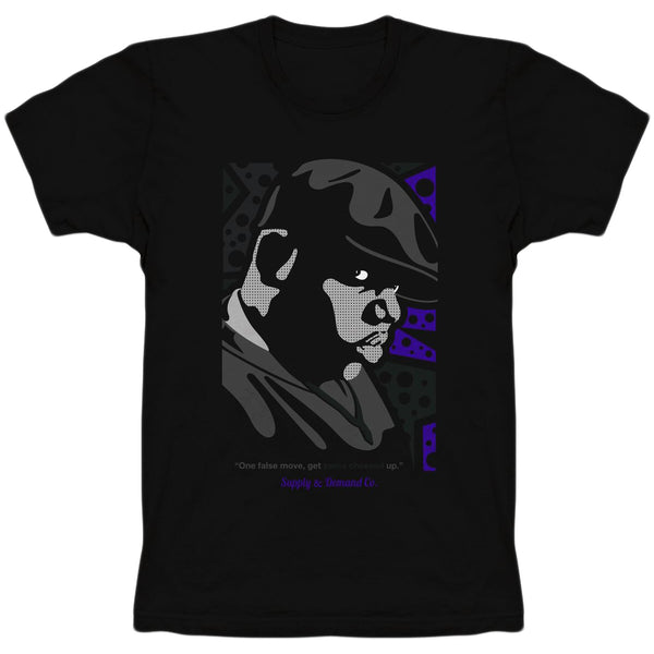 Supply & Demand - Biggie (bigtee) black/purple
