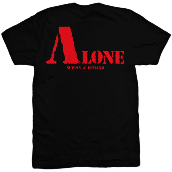 Supply & Demand - No Friends (alonetee) black/red