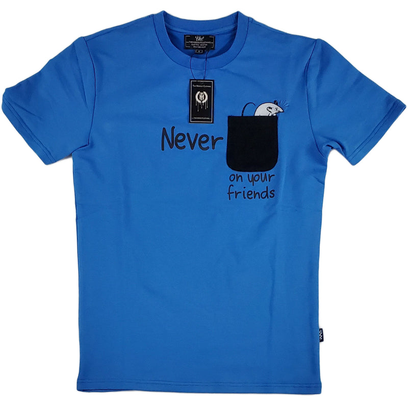THC - Never Rat Pocket Tee (Mystery Blue)