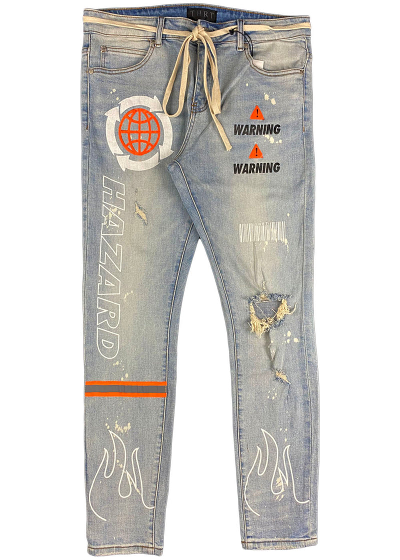 THRT Denim - Hazard Denim (hazard orange)