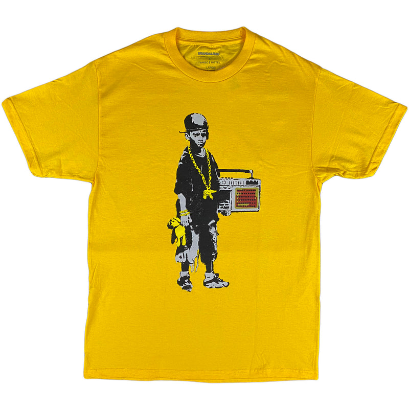 Tango Hotel - Boy With A Teddy T-shirt (yellow)