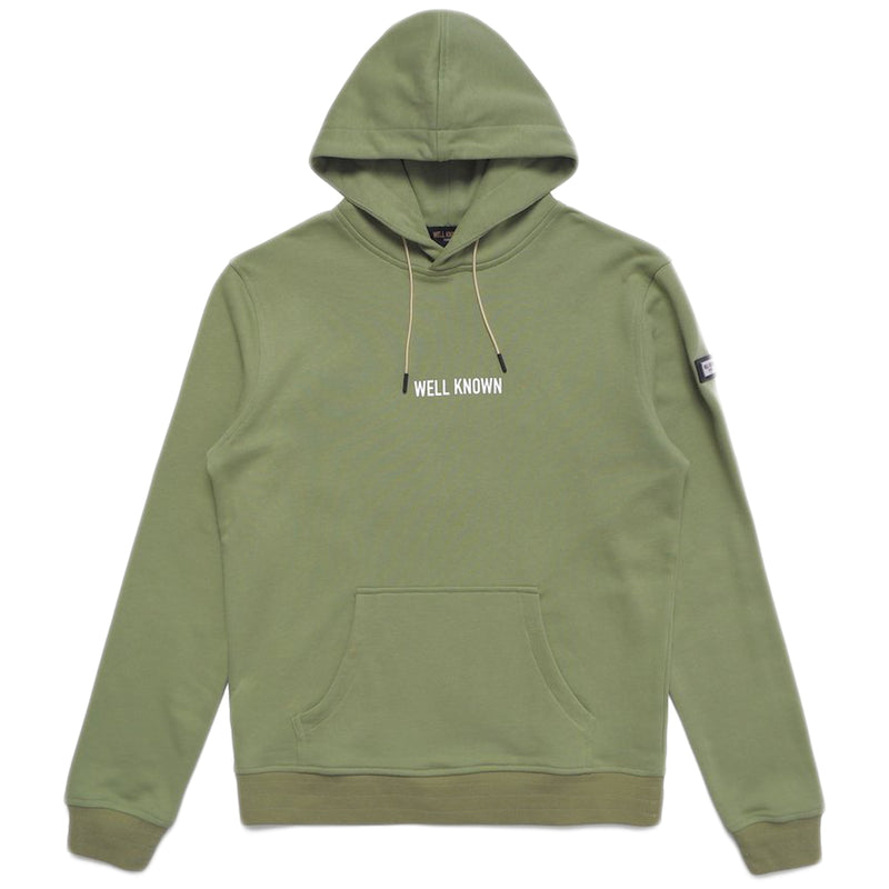 Well Known - The Broome Hoody (moss)