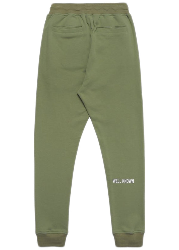 Well Known - The Broome Sweatpant (moss)