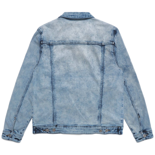 Well Known - The Dean Street Denim Jacket (light blue)