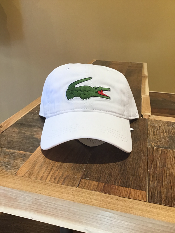 Lacoste Hat (white)