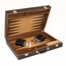 Load image into Gallery viewer, Matte Ebony Backgammon Set