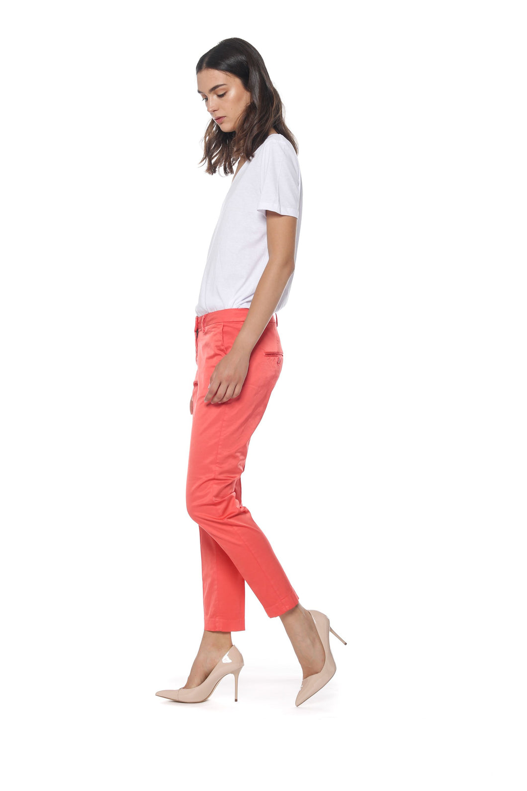 NY Slim Chino Pant with Studs