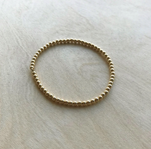 Load image into Gallery viewer, Gold Bead Bracelet