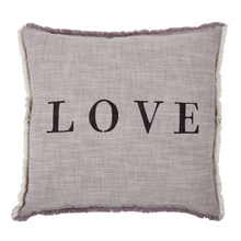 Load image into Gallery viewer, Love Square Pillow