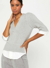 Load image into Gallery viewer, Lucie Layered V Neck Sweater