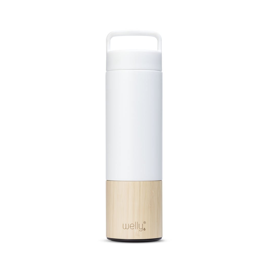 Traveler 18oz Bamboo Water Bottle