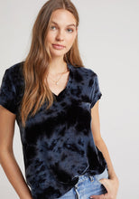 Load image into Gallery viewer, Velvet V-Neck Tee