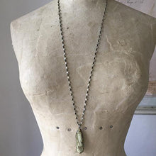 Load image into Gallery viewer, Imperial Jasper Diamond Necklace