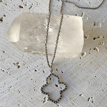 Load image into Gallery viewer, Moroccan Diamond Pendant Necklace - Sm