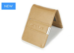 All Beige Slim Money Clip w/ RFID