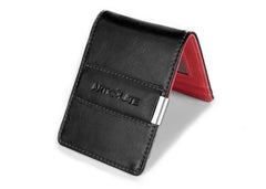 Black & Red Slim Money Clip w/ RFID