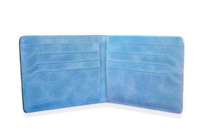 BLACK W/ BLUE ARTICULATE WALLET - Articulate
