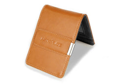 Brown & Black Slim Money Clip w/ RFID