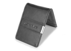 All Charcoal Slim Money Clip w/ RFID