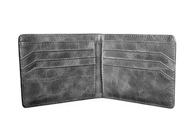 All Charcoal Minimalist Wallet - Articulate