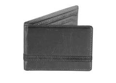 All Charcoal Minimalist Wallet