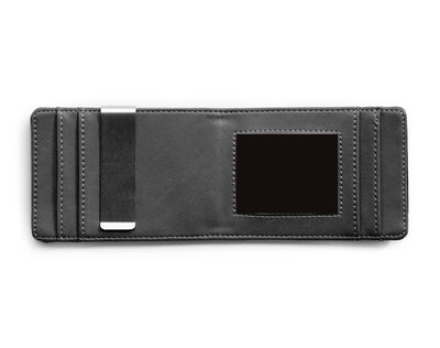 Charcoal & Black Slim Money Clip w/ RFID - Articulate