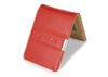 Red & Beige Slim Money Clip w/ RFID - Articulate