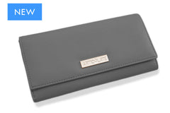 Sharkskin Grey Clutch (3 Straps Included)