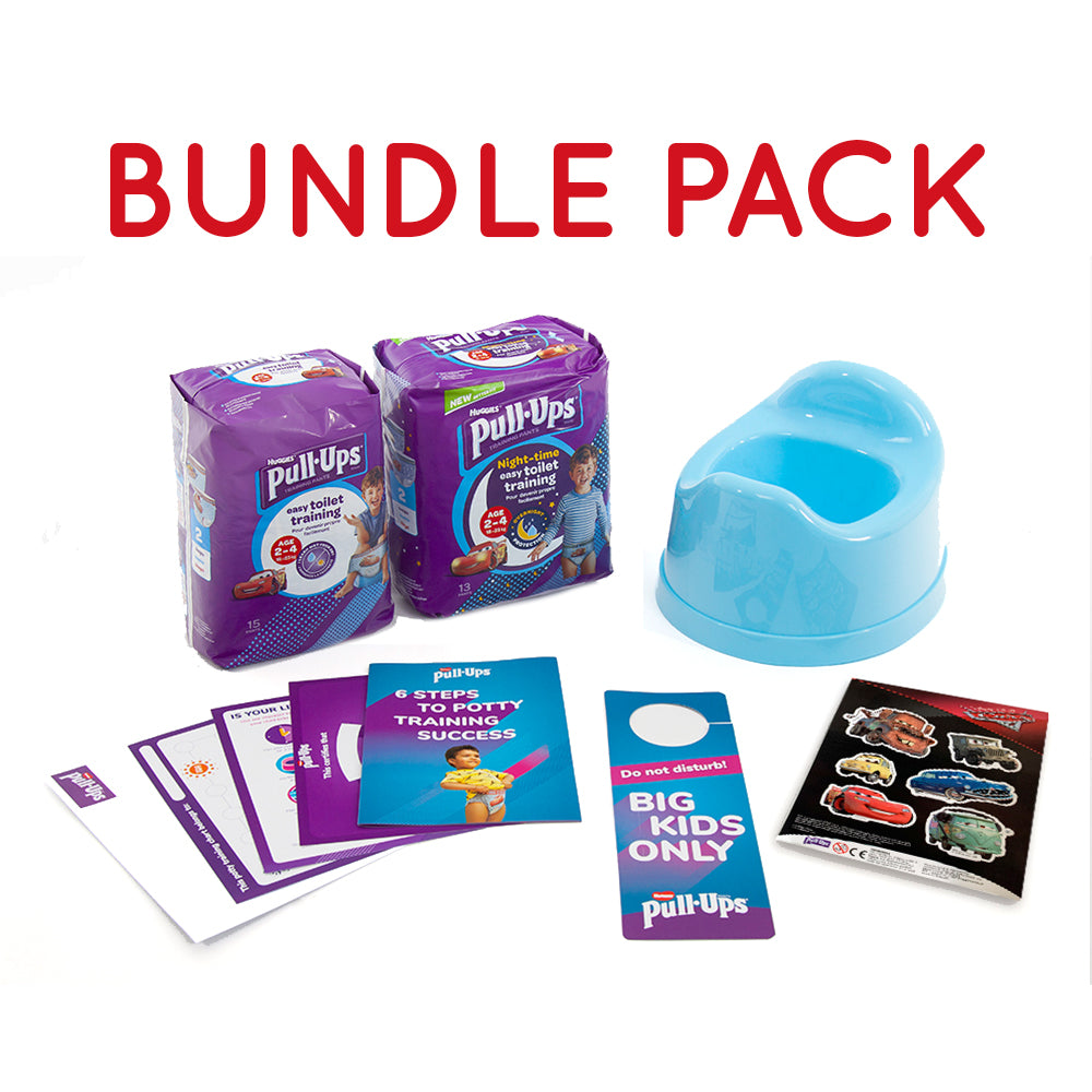 Bundle - Huggies® Pull-Ups® Boys Age 2-4