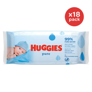 Huggies® Pure 18pk