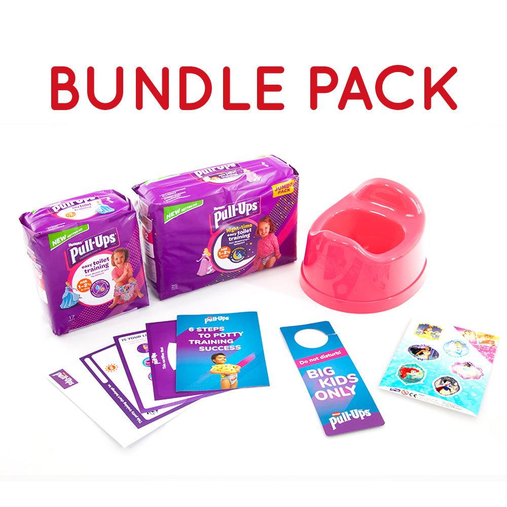 Bundle - Huggies® Pull-Ups® Girls Age 1-2.5