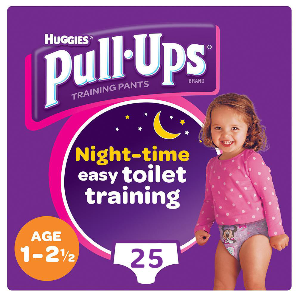 Huggies® Pull-Ups® Girls Age 1-2.5 Night