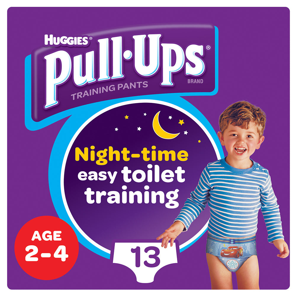 Huggies® Pull-Ups® Boys Age 2-4 Night
