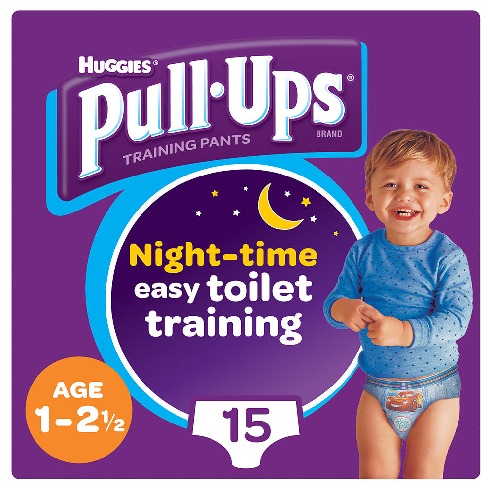 Huggies® Pull-Ups® Boys Age 1-2.5 Night