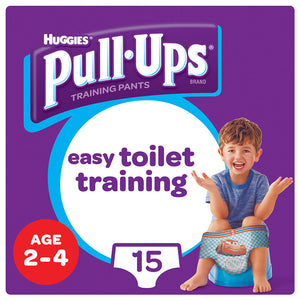 Huggies® Pull-Ups® Boys Age 2-4 Day