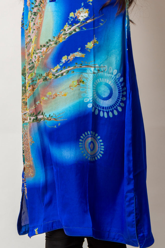 Load image into Gallery viewer, SILK Kurta 09