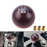 Universal Genuine Carbon Fiber Mugen 5 / 6 Speed Manual  Spherical Gear Shift Knob RS-SFN013