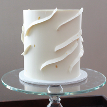 Load image into Gallery viewer, Buttercream Ribbons + Gold Leaf