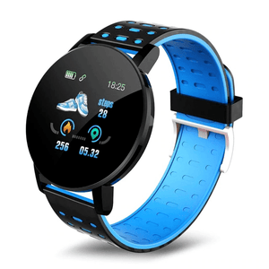 Blue Kruven Model D Smartwatch for iPhone/Android